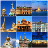 Impressions of Saint Petersburg Royalty Free Stock Photos