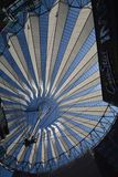 Impressions from the Sony Center at Potsdam square, Potsdamer Platz in Berlin from June 1, 2017, Germany. Berlin, Germany – June 1, 2017 Impressions from stock photos
