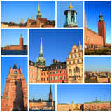 Impressions of Stockholm Royalty Free Stock Photos