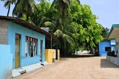 Impressions of Ukulhas, Maldives Royalty Free Stock Image