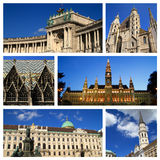Impressions of Vienna Royalty Free Stock Images
