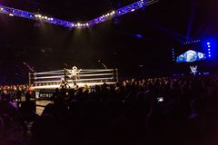Impressions from the WWE Live Event during the WWE Live Tour 2017, Hamburg, Germany Royalty Free Stock Photo