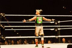 Impressions from the WWE Live Event during the WWE Live Tour 2017, Hamburg, Germany Royalty Free Stock Photos