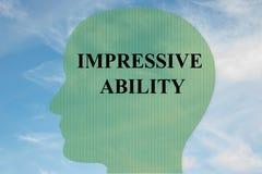 Impressive Ability concept Royalty Free Stock Photo
