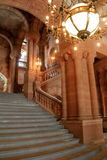 Impressive architecture of Grand Staircase,New York State Capitol,Albany,New York,2015 Stock Images