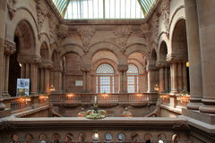 Impressive architecture inside New York State Capitol,Albany,New York,2015 Royalty Free Stock Image