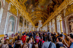 Impressive and beautiful Hall of Mirrors Royalty Free Stock Photos