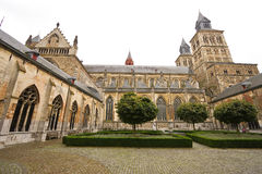 Impressive church and cloister complex Royalty Free Stock Photo
