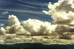 impressive clouds 2 Royalty Free Stock Photo