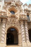 Impressive detail in historic architecture, Balboa Park, Sandiego, California, 2016 Royalty Free Stock Photography