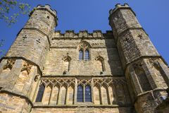 Gatehouse of Battle Abbey in Sussex royalty free stock photos