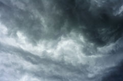Impressive gray cloud before rain Royalty Free Stock Images
