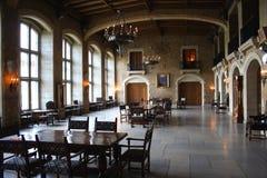 Impressive hotel dining room. Impressive historical dining room at a resort hotel, Banff Springs, Canada Stock Images