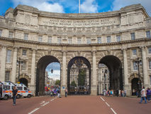 The impressive and impressive Admiralty Arch in London stock photos