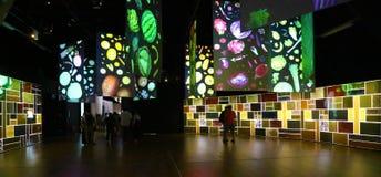 Impressive installation of pavilion zero in Expo 2015 Royalty Free Stock Images