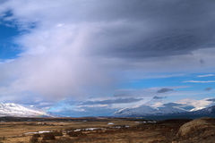 Impressive landscape in the north of Iceland Royalty Free Stock Images