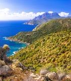 Impressive nature of Corsica island Royalty Free Stock Photography