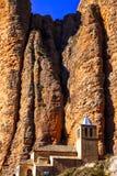 Impressive rocks -  Mallos de Riglos Stock Photo