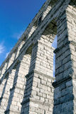 Impressive Segovia Aqueduct royalty free stock photography