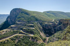 The impressive Serra da Leba pass in Angola Royalty Free Stock Photo