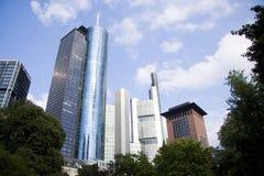 Impressive skyline Stock Images