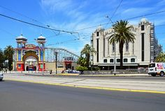 The impressive suburb of Melbourne Royalty Free Stock Photography