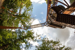 Impressive Tree House in Royal Kew Gardens, London Royalty Free Stock Images