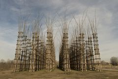 Vegetable Cathedral of Lodi, Italy stock image
