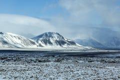 Impressive winter mountain landscape Stock Photography