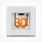 impressora 3d Imagem de Stock
