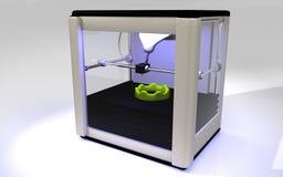 impressora 3D Fotografia de Stock Royalty Free