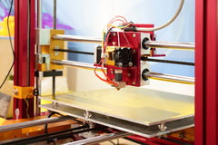 impressora 3D Imagens de Stock Royalty Free
