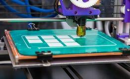 Impressora 3D de trabalho Imagem de Stock Royalty Free
