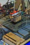 Impressora 3d experimental no laboratório fotografia de stock royalty free