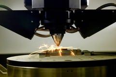 impressora 3D para o metal imagens de stock royalty free