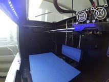 Impressora 3d vazia para dentro Fotos de Stock Royalty Free