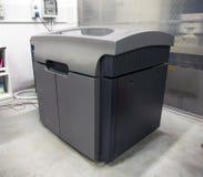 impressora 3D & x28; Polyjet& x29; Fotografia de Stock Royalty Free