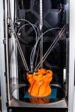 Impressora da impressão 3d Imagens de Stock