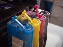 Impressora da tinta Foto de Stock Royalty Free