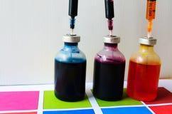 Impressora da tinta imagens de stock
