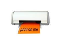 Impressora de cor do Inkjet Fotos de Stock