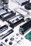 Impressora de Dissasembled Imagem de Stock