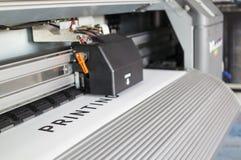 Impressora de Ecosolvent Imagens de Stock