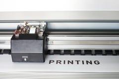 Impressora de Ecosolvent Foto de Stock