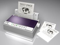 Impressora de matriz Fotografia de Stock