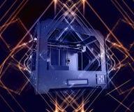 Impressora 3 dimensional Imagens de Stock Royalty Free