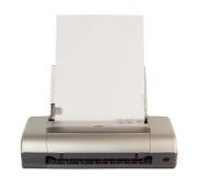 Impressora do computador da tecnologia Fotografia de Stock Royalty Free