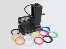 Impressora do Desktop 3D fotos de stock royalty free