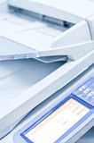 Impressora do fax fotografia de stock