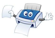 Impressora dos desenhos animados Imagem de Stock
